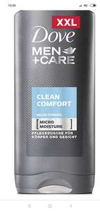 Dove Men+Care Body and Face Wash Clean Comfort 400ml £1.23 @ Amazon Prime Now (Select locations)