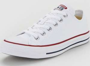 Converse Chuck Taylor All Star Ox - White £40 @ Very