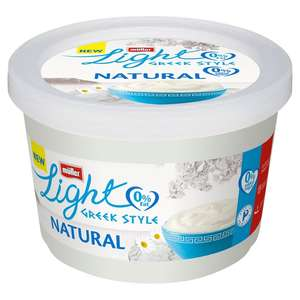 Muller light natural Greek style 450g ONLY 49p in Heron Foods Partington
