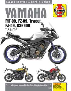 Haynes Motorcycle Books £5 at Halfords Instore (some online too!)