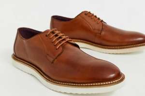 Lambretta Lace Up Leather Mens Shoes in Brown/Black £37.50 Delivered @ ASOS