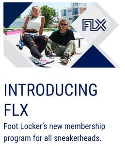 FootLocker FLX Membership Program (Free Sign Up) - Gives free delivery no min spend