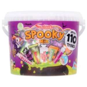 Swizzels Spooky Mix sweet tub 1.05kg - £1 reduced to clear instore @ Tesco Catford (other Halloween sweets reduced too!)