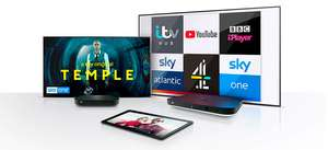 Receive up to 18 months of free Sky TV with new LG OLED Purchase