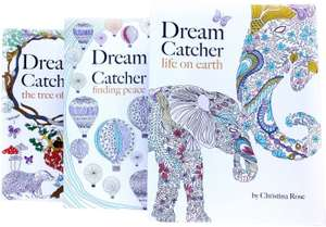 Dream Catcher anti-stress adult-colouring books (3 book collection) for £4.99 delivered @ Books2Door