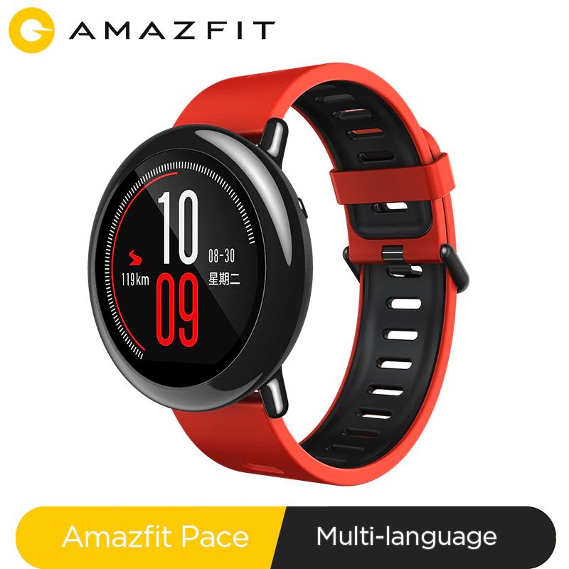 Amazfit Pace Smartwatch Amazfit Smart Watch Bluetooth Music GPS Information Push Heart Rate @ amazfit official store /aliexpress