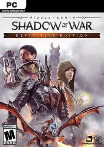Middle-earth: Shadow of War Definitive Edition (Steam PC) £7.99 @ Fanatical