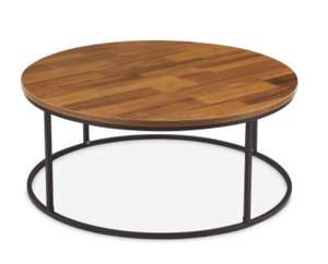 Kirkton House Oak effect style large coffee table - £59.99 / £66.94 delivered @ Aldi