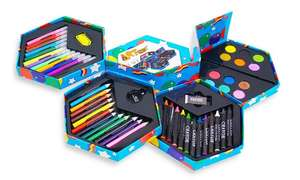 52 piece Craft Art Stationery Box £5.78 delivered @ Groupon