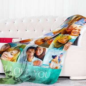 Personalised Photo Blankets - Medium £14.19 / Large £18.99 / Extra Large £18.99 Delivered @ Groupon / Printerpix - Code Info In Description