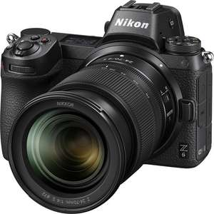 Nikon Z6 Digital Camera with 24-70mm lens and Mount Adapter (PRICE MATCH) £1799 @ John Lewis