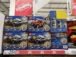 Lego 3 in 1 city suoerpack from £38 down to £25 Asda
