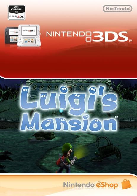 Luigi's Mansion Nintendo 3DS Download - £26.85 @ Shopto.net