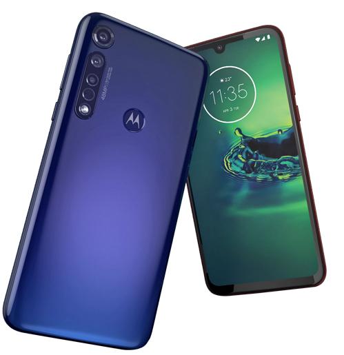 Motorola Moto G8 Plus 64GB – Cosmic Blue (Dual SIM) Smartphone £215.99 (New User Email Sign Up) @ Lenovo