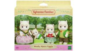Sylvanian Families Woolly Alpaca Family - £10.24 With Code @ Argos (Free Collection)