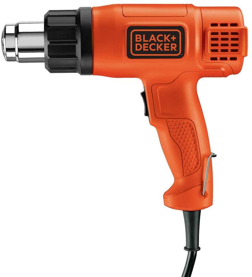 Black+Decker KX1650-GB Heat Gun, 1750 W, 240 V, Black/Orange £13.69 (Prime) £18.18 (Non-Prime) @ Amazon