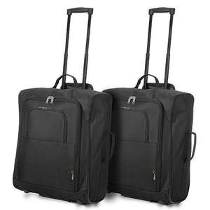 2 Easyjet/Jet2/BA maximum size cabin bags AND 2 Holdall Flight Bags £27.99 @ Travel Luggage & Cabin Bags