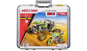 Meccano 27-in-1 Off Road Racers and Space Model Sets only £24 (With Code) @ Argos - Free Collection