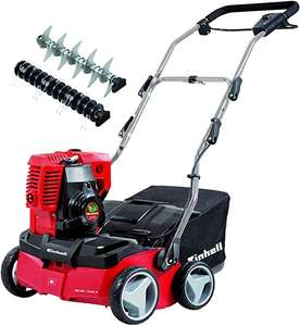 Einhell GE-SA 1335 P Petrol Scarifier/Aerator with 35 cm Working Width, Red - £189.99 @ Amazon