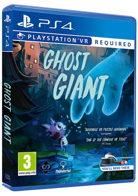 Ghost Giant (PS4 PSVR) for £11.85 delivered @ Base