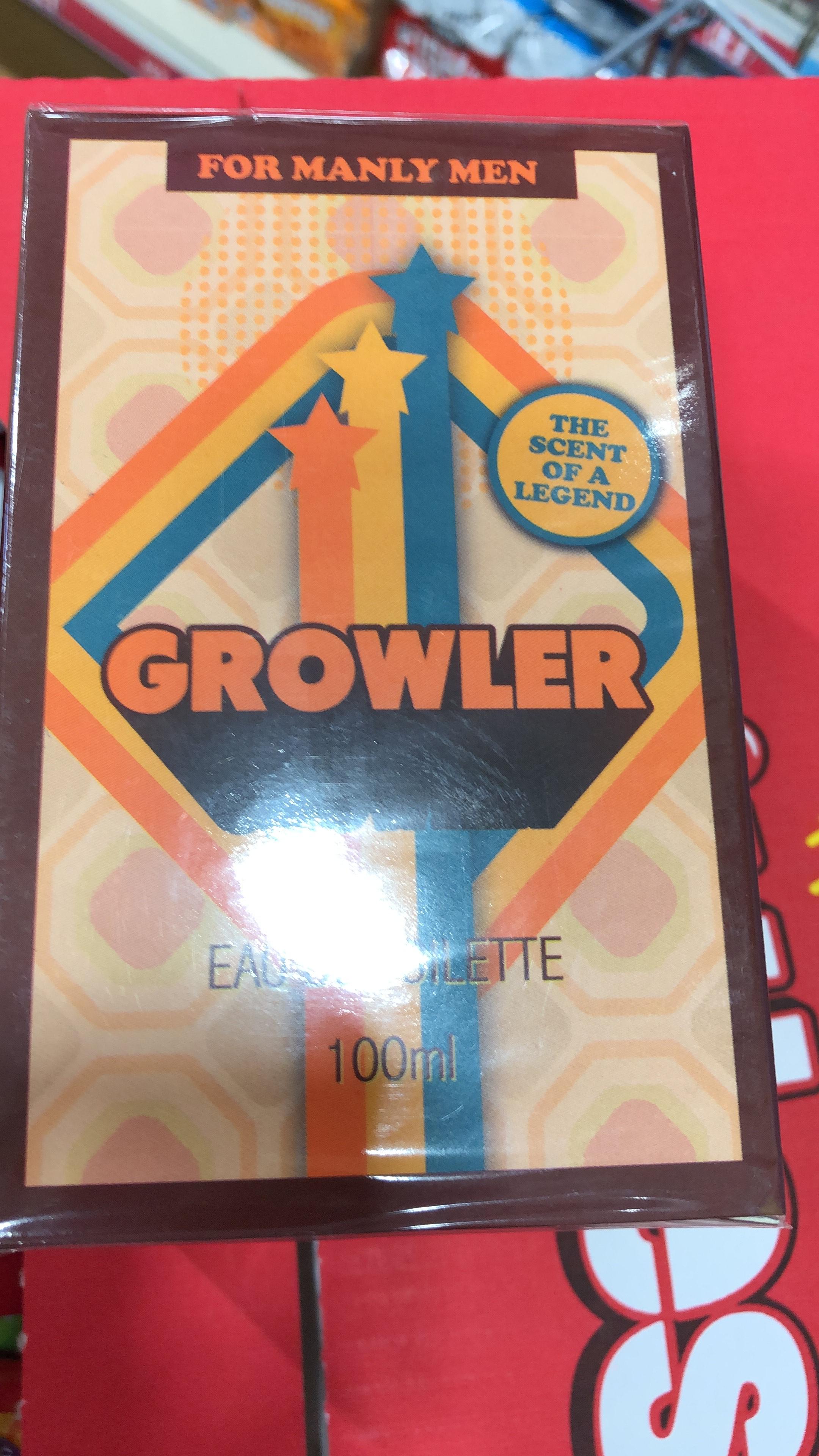 Growler Eau de Toilette £1 Instore @ Poundland (Dorset)