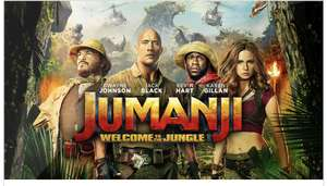 Free tickets to see Jumanji Welcome to the Jungle with the My Sky app on 30th November at 10am/10:30am