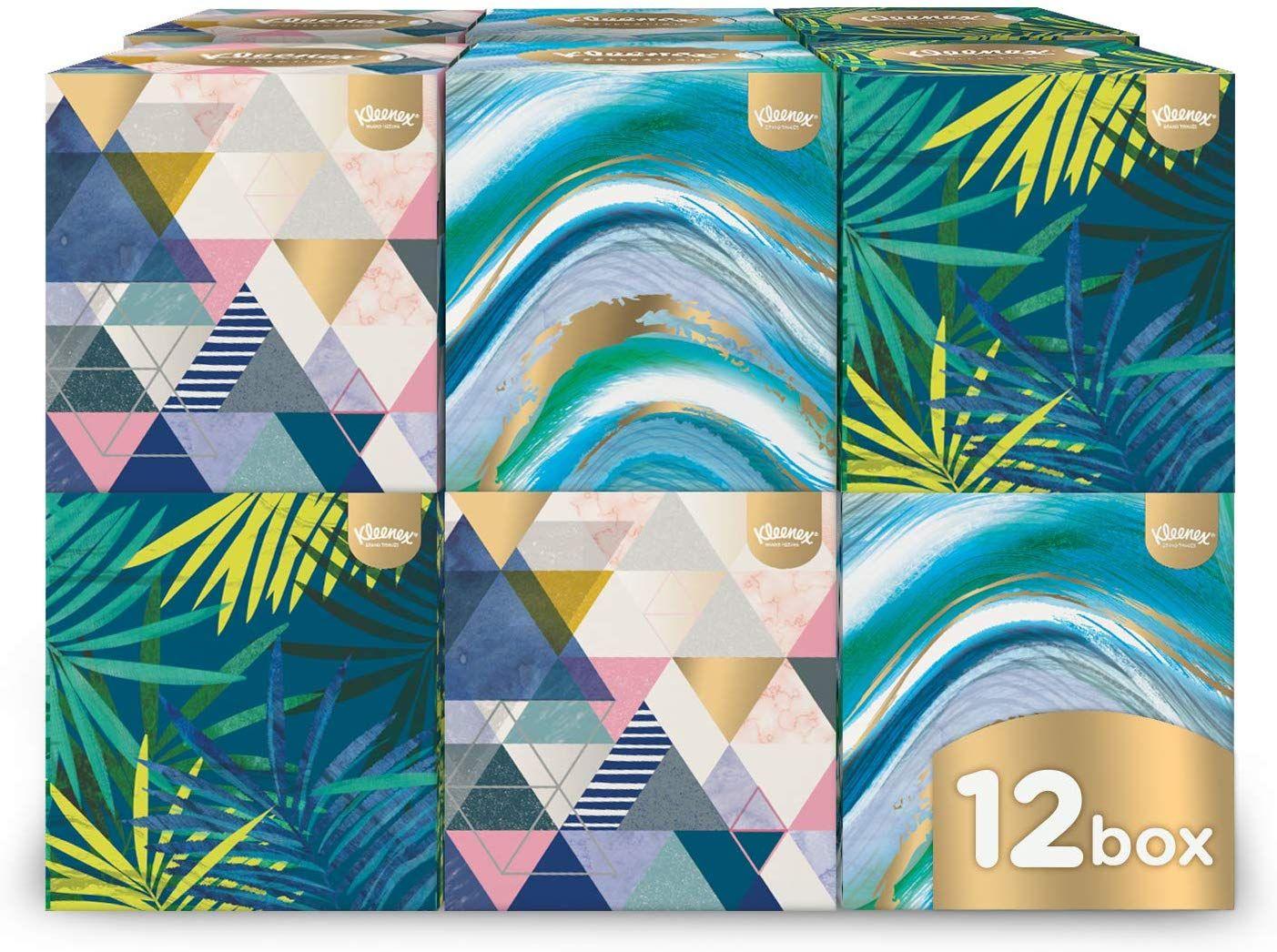 Kleenex Collection Cube - 12 Boxes @ Amazon - £5.40 Prime / £9.99 non-Prime