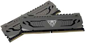 Patriot Memory Viper Steel Series DDR4 16GB (2 x 8GB) 3000MHz Kit w/Gunmeta for £58.99 - Sold by GadgetLifestyle and Fulfilled by Amazon.