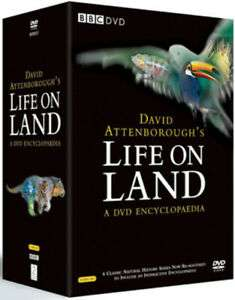 David Attenborough's Life On Land - A DVD Encyclopaedia £16.58 with free delivery music-and-film-store @ ebay