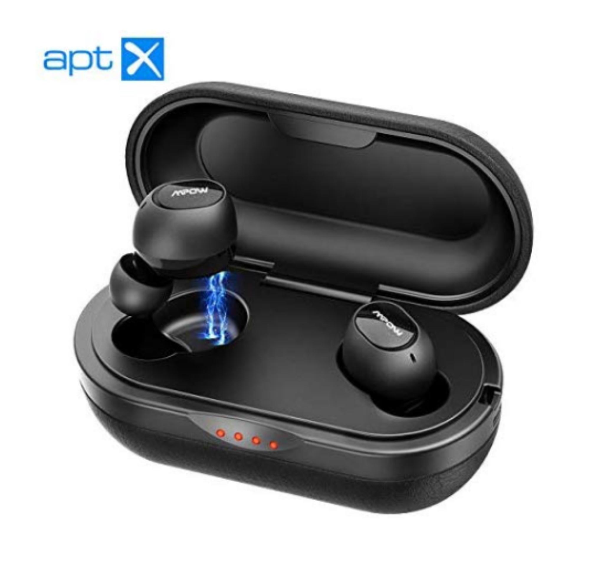 Wireless Earbuds / Earphones Waterproof Rechargeable - £26.99 - Sold by SJH EU LTD / Fulfilled by Amazon