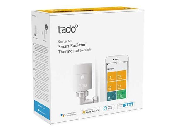 tado Smart Radiator Thermostat Starter Kit V3+ Vertical - £119.98 @ BT Shop