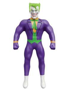 Stretch Joker £10 / Stretch Armstrong £10 / Stretch Vac-Man £11.50 @ Argos + 20% off when you spend £20