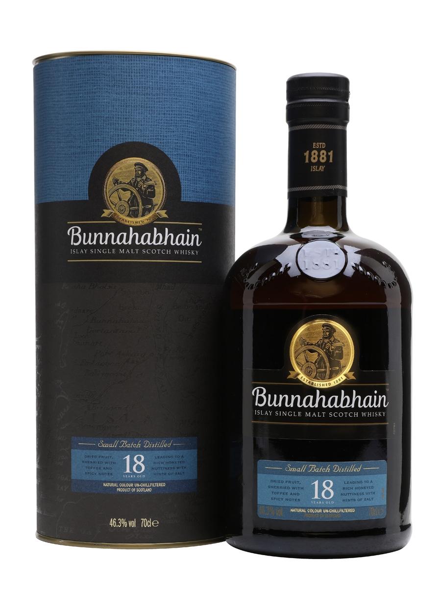 Bunnahabhain 18 Year Old Islay Single Malt Scotch Whisky 70 cl - £82.82 delivered @ Amazon