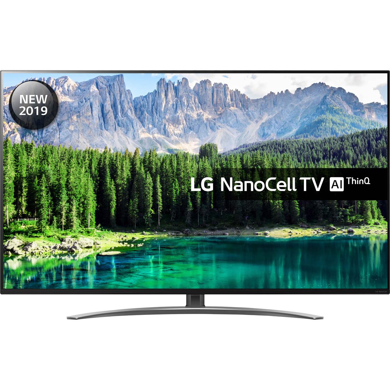 "LG 55SM8600PLA 55"" Smart 4K Ultra HD TV with Nano Cell £656.10 @ AO"