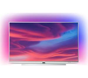 """Philips 55PUS7334 55"""" Smart Ambilight 4K Ultra HD Android TV with HDR10+, Dolby Vision, Dolby Atmos and P5 Processor £499 @ Currys PC World"""