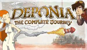 Deponia: The Complete Journey 96p @ Instant Gaming