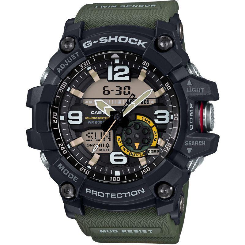 Mens Casio G-Shock Mudmaster Master Of G Alarm Chronograph Watch GG-1000-1A3ER £144 @ Watch Shop