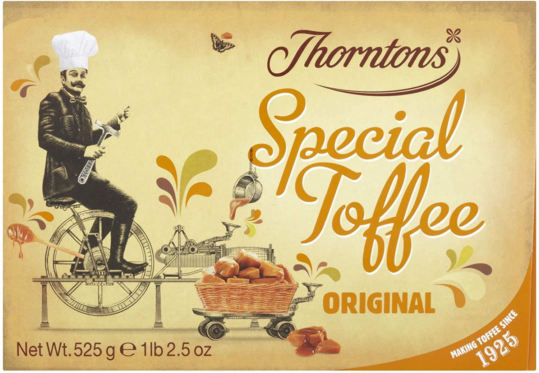 Thornton's original special toffee gift box 525g - RTC @ Aldi (Catford)