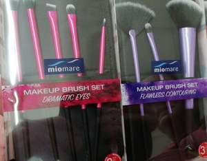 Make Up Brushes £5.99 per pack or 2 for £10 Instore @ Lidl (Crawley)
