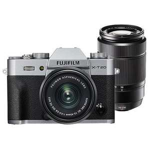 Fujifilm X-T20 Mirrorless Camera in Silver with XC15-45mm Lens & XC50-230mm f/4.5-6.7 OIS II Lens £699.00 @ Jessops (£609.00 after cashback)
