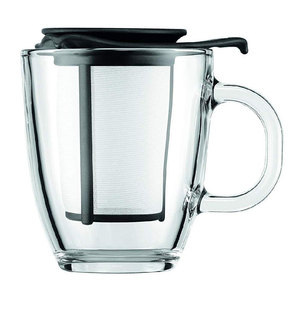 Bodum Glass Mug Tea Infuser - £3.70 @ Amazon (+£4.49 Non-prime)