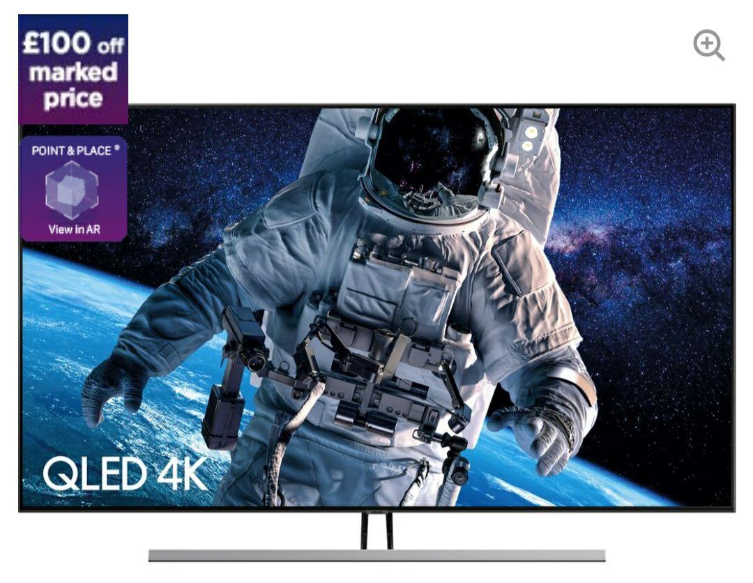 "SAMSUNG QE55Q85RATXXU 55"" Smart 4K Ultra HD HDR QLED TV + 5.1 Wireless Sound Bar Bundle £1398.99 @ Currys (Other Bundles Available)"