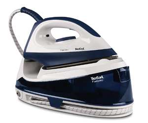 Tefal SV6035 Fasteo Steam Generator Iron, 2200 W, 100 Gms /minute,180 Gms/minute(turbo steam) 5.2 bars pump pressure - £59.99 @ Amazon