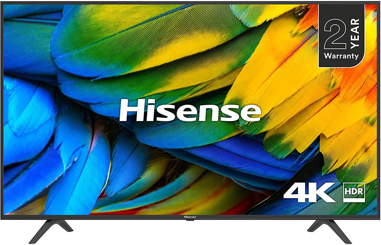 HISENSE H50B7100UK 50-Inch 4K UHD HDR Smart TV £299 @ Amazon