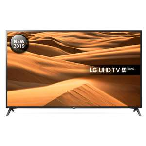 "LG 70UM7100PLA 70"" Smart 4K Ultra HD TV with HDR10, True Colour Accuracy and Freeview Play £779 @ Hughes"