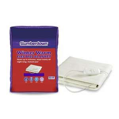 Slumberdown Winterwarm Electric Blanket 61x 122cm £21.98 Delivered @ wayfair