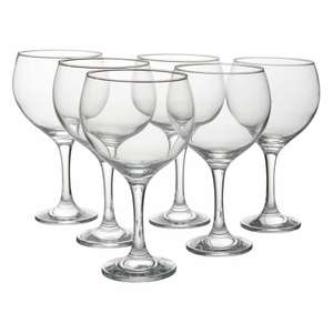 Pack of 6 bargain Gin glasses £6 @ Wilko
