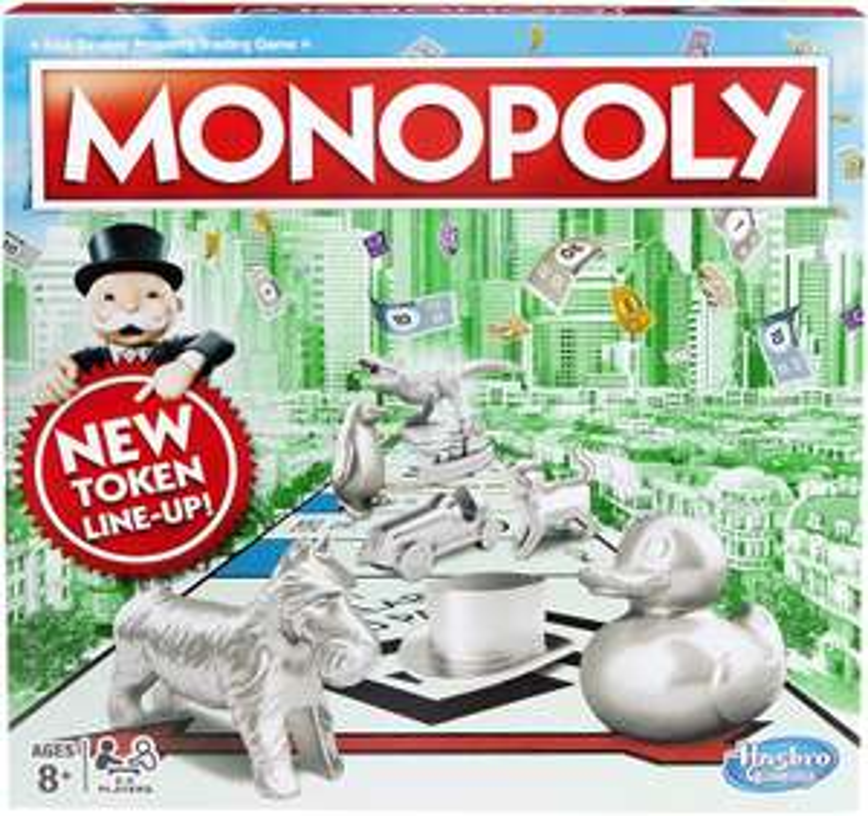 Hasbro Gaming Monopoly Classic Game £15 @ Amazon (+£4.49 Non-prime)