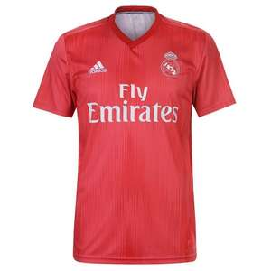 Adidas Real Madrid Third Shirt 2018-2019 £16.99 Delivered (With Code) @ Sports Direct