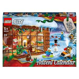 lego City 60235 Advent Calendar - £16.99 @ Smyths (Free Collection)
